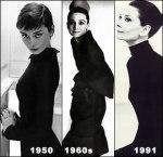 Audrey em três fases